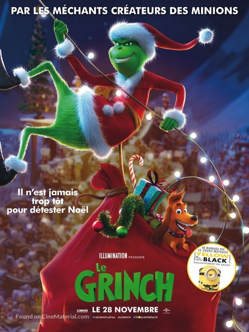 The Grinch - French Movie Poster