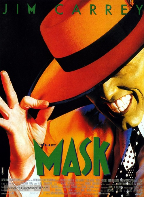 The Mask - French Movie Poster
