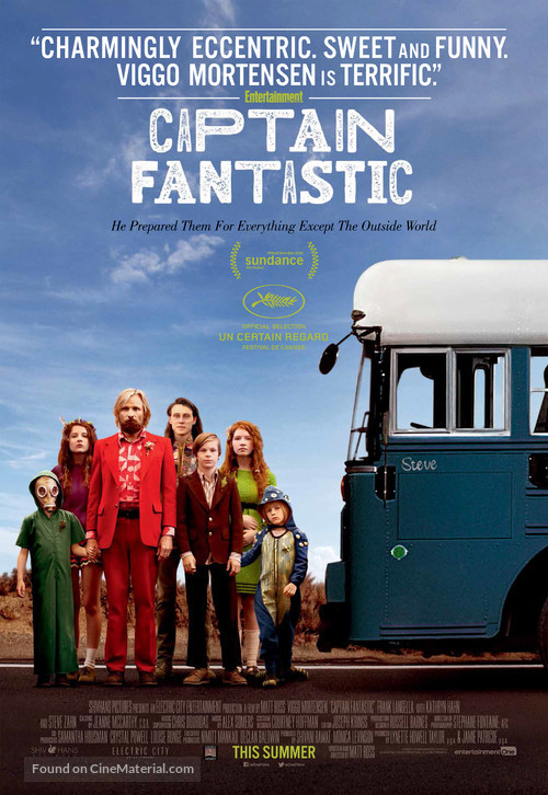 Captain Fantastic - Canadian Movie Poster