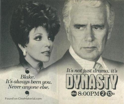 """Dynasty"" - poster"
