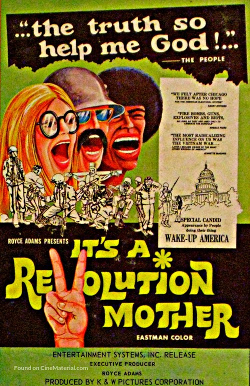 It's a Revolution Mother - Movie Poster