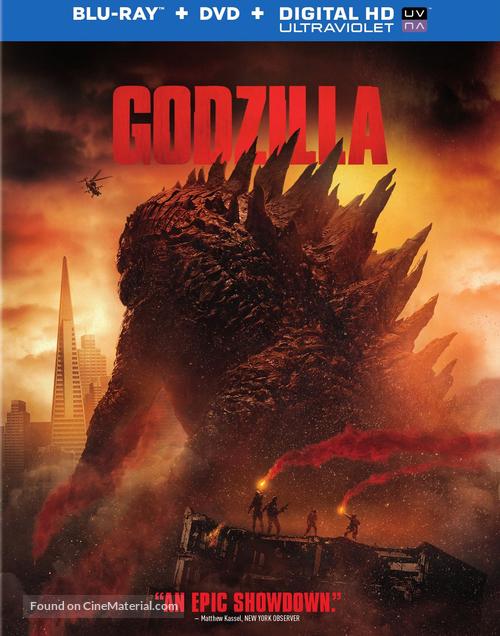 Godzilla - Blu-Ray cover