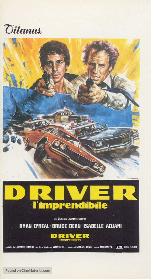 The Driver - Italian Movie Poster