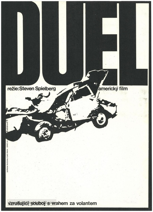 Duel - Czech Movie Poster