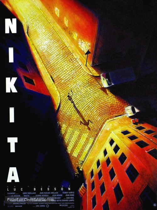 Nikita - French Movie Poster
