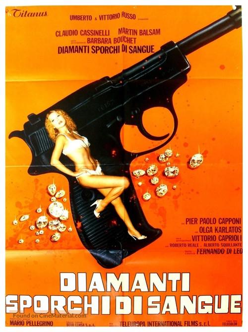 Diamanti sporchi di sangue - Italian Movie Poster