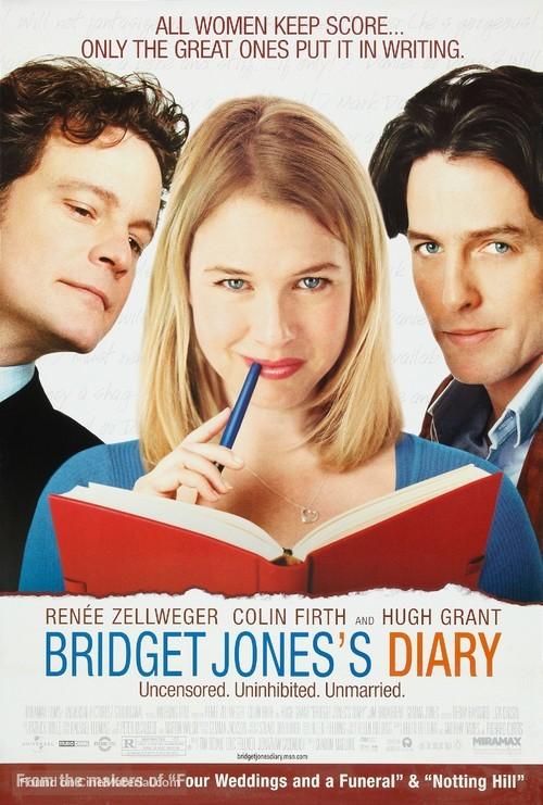 Bridget Jones's Diary - Movie Poster