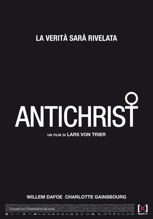 Antichrist - Italian Movie Poster