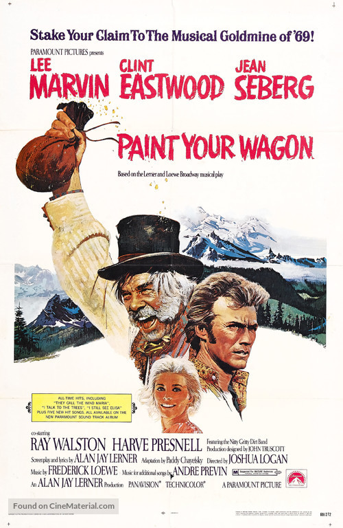Paint Your Wagon - Movie Poster
