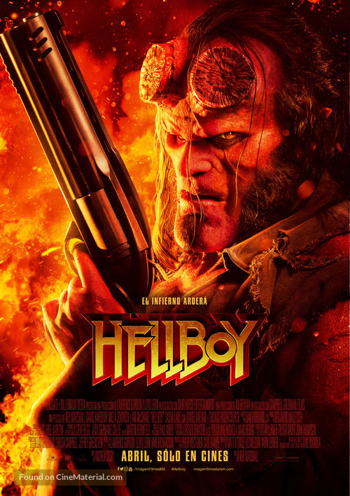 Hellboy - Mexican Movie Poster