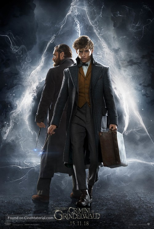 Fantastic Beasts: The Crimes of Grindelwald - Italian Movie Poster