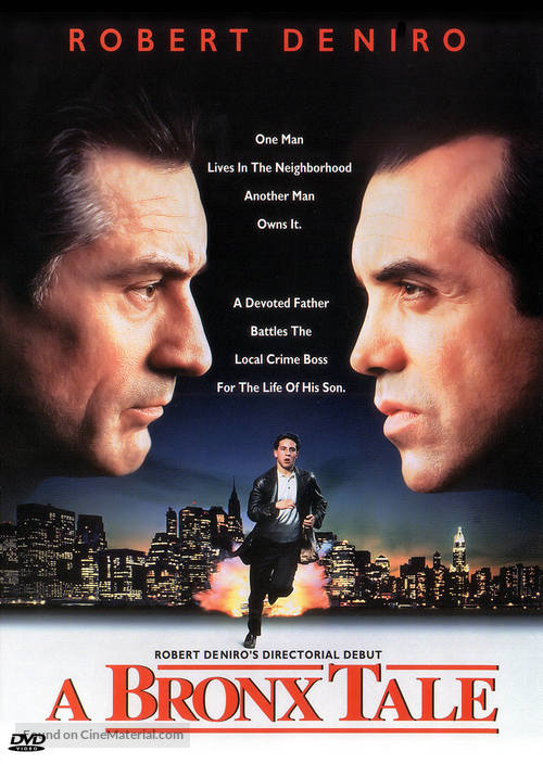 A Bronx Tale - DVD movie cover