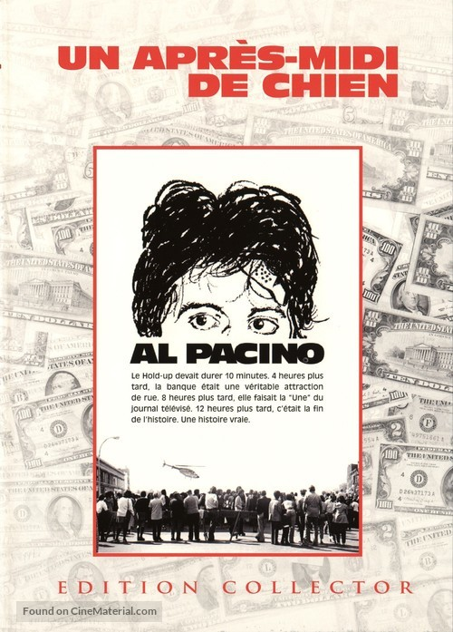 Dog Day Afternoon - French DVD movie cover