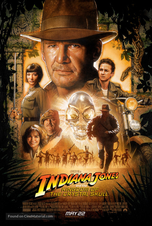 Indiana Jones and the Kingdom of the Crystal Skull - Theatrical poster