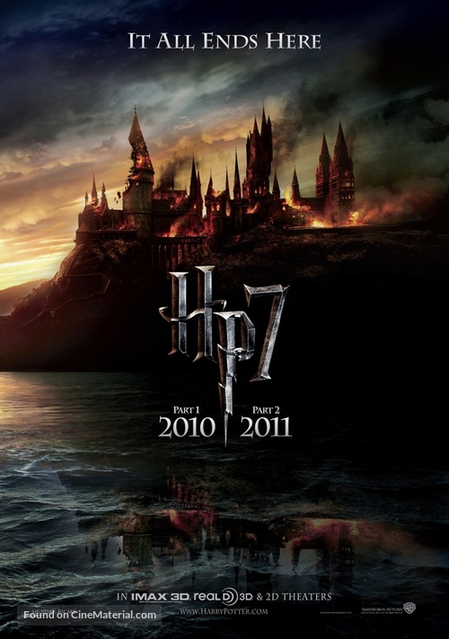 Harry Potter and the Deathly Hallows: Part I - Australian Movie Poster
