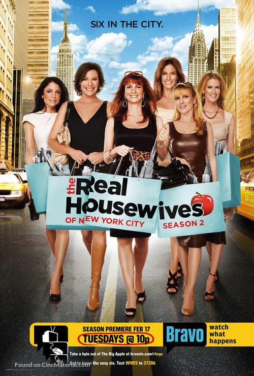 """The Real Housewives of New York City"" - Movie Poster"