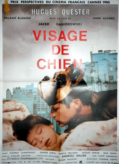 Visage de chien - French Movie Poster