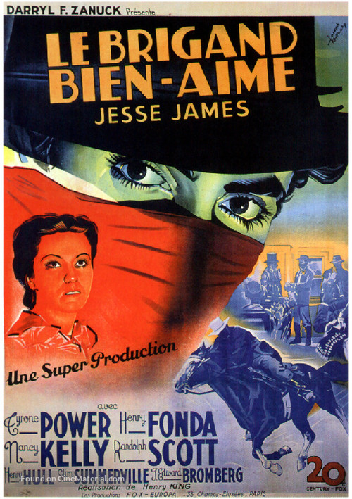 Jesse James - French Movie Poster