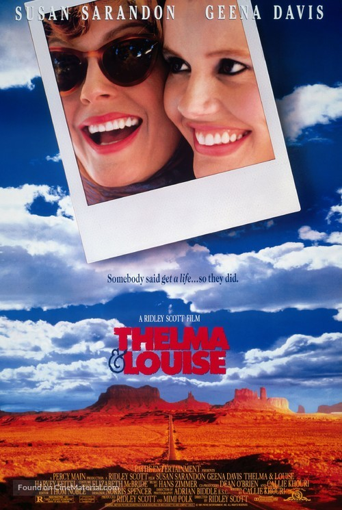 Thelma And Louise - Movie Poster