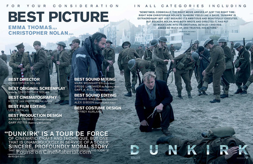 Dunkirk - For your consideration poster