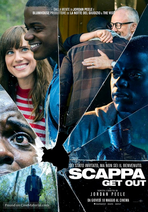 Get Out - Italian Movie Poster