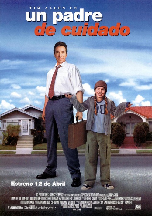 Joe Somebody - Spanish Movie Poster