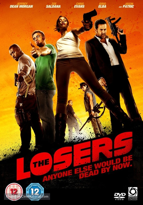 The Losers British Dvd Cover