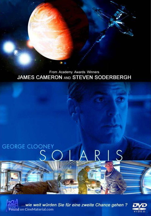 Solaris - German DVD cover