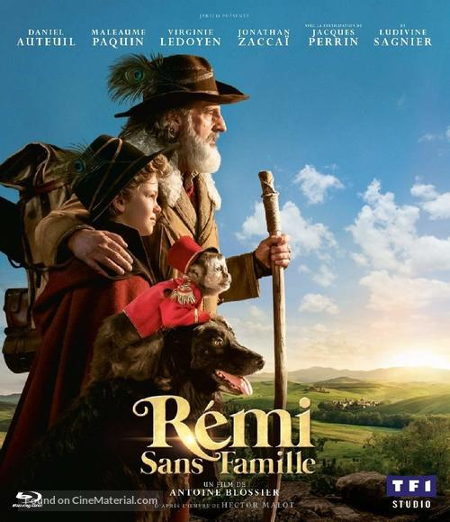 Rémi sans famille - French Blu-Ray movie cover