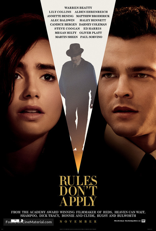 Rules Don't Apply - Movie Poster