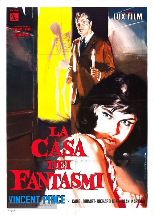 House on Haunted Hill - Italian Movie Poster