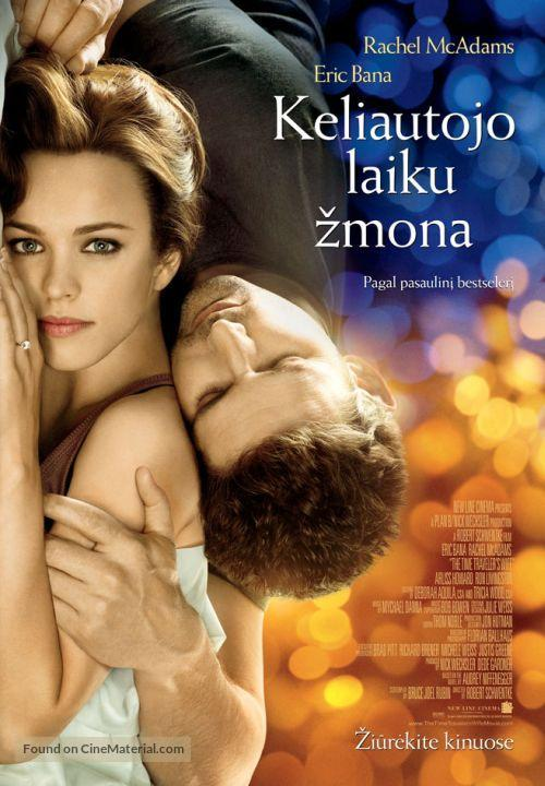 The Time Traveler's Wife - Lithuanian Movie Poster