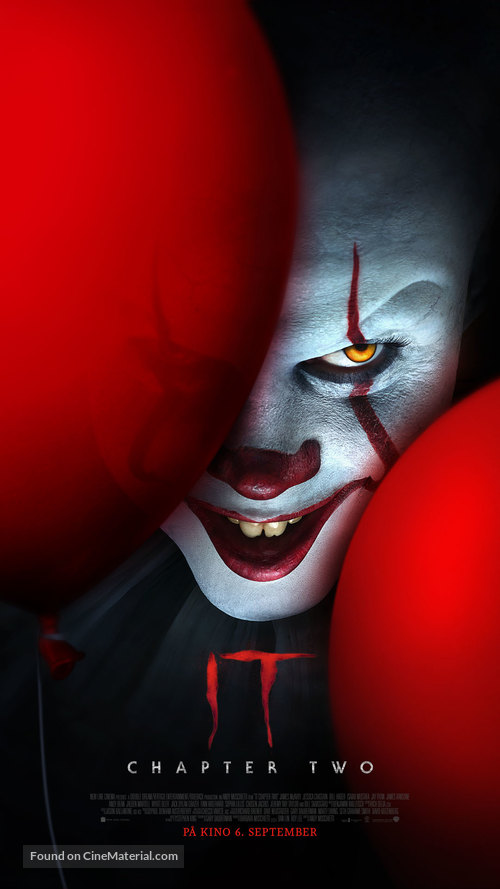 It: Chapter Two - Norwegian Movie Poster