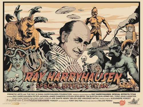 Ray Harryhausen: Special Effects Titan - British Movie Poster