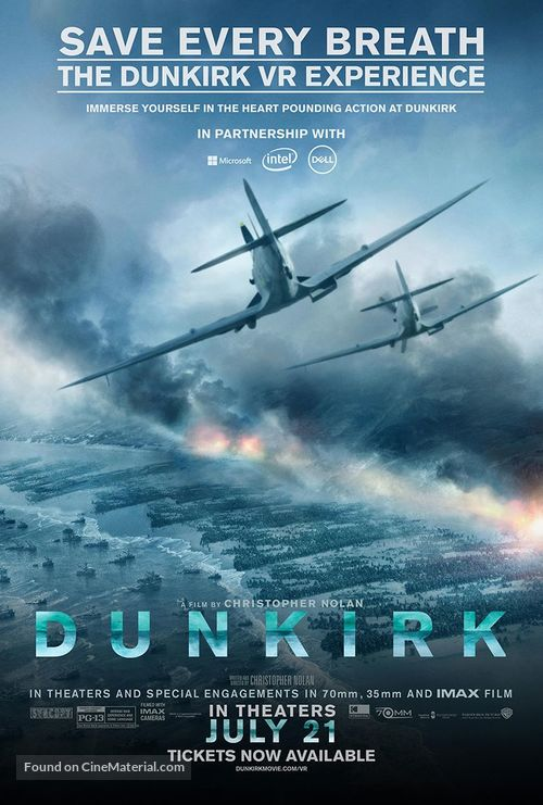 Dunkirk (2017) movie poster