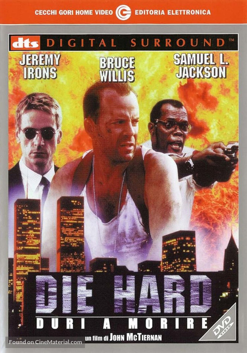 Die Hard: With a Vengeance - Italian DVD movie cover