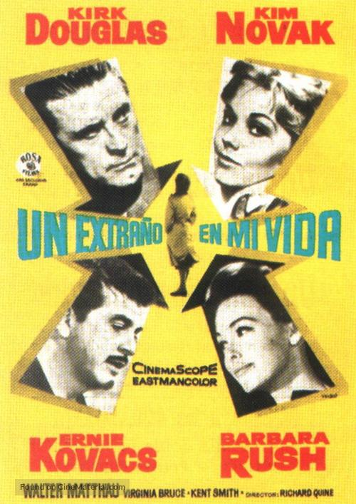 Strangers When We Meet - Spanish Movie Poster