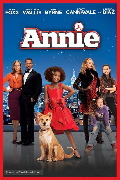 Annie - DVD movie cover
