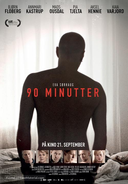 90 minutter - Norwegian Movie Poster