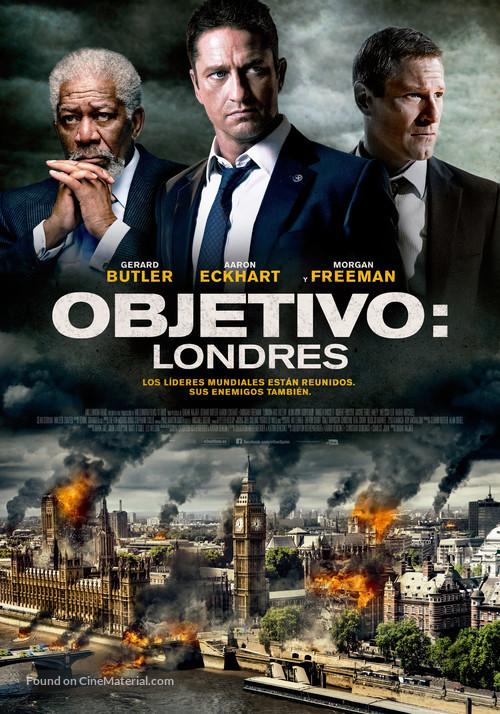 London Has Fallen - Spanish Movie Poster