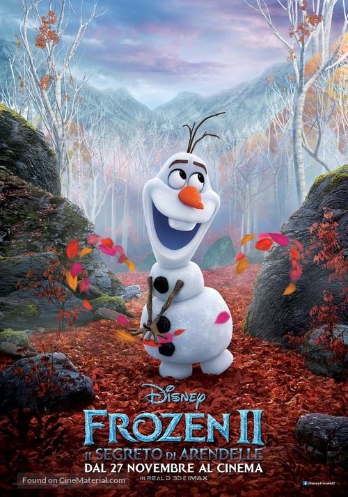 Frozen II - Italian Movie Poster