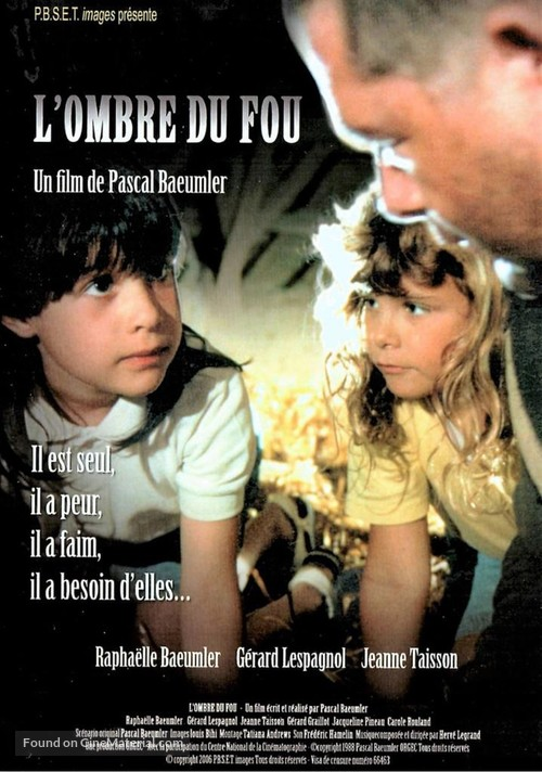 L'ombre du fou - French Movie Poster