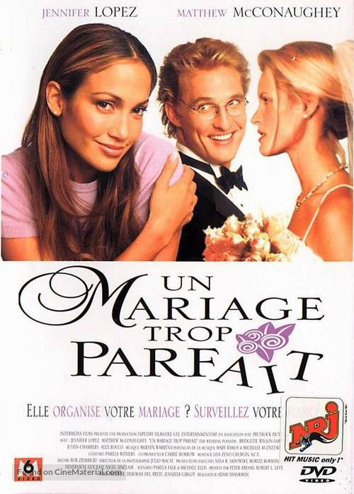 The Wedding Planner - French DVD cover