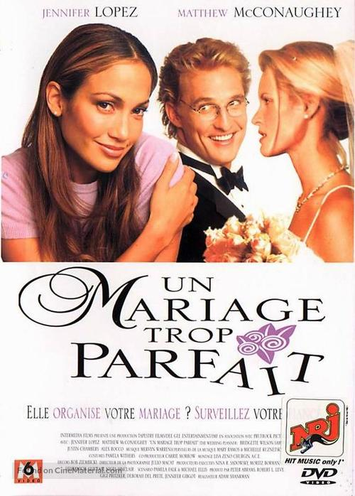 The Wedding Planner - French DVD movie cover