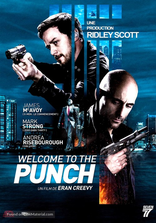 Welcome to the Punch - French DVD movie cover