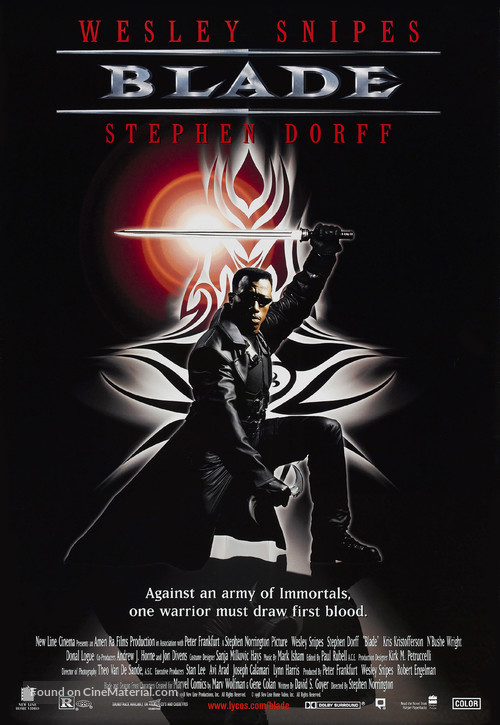 Blade - Video release poster