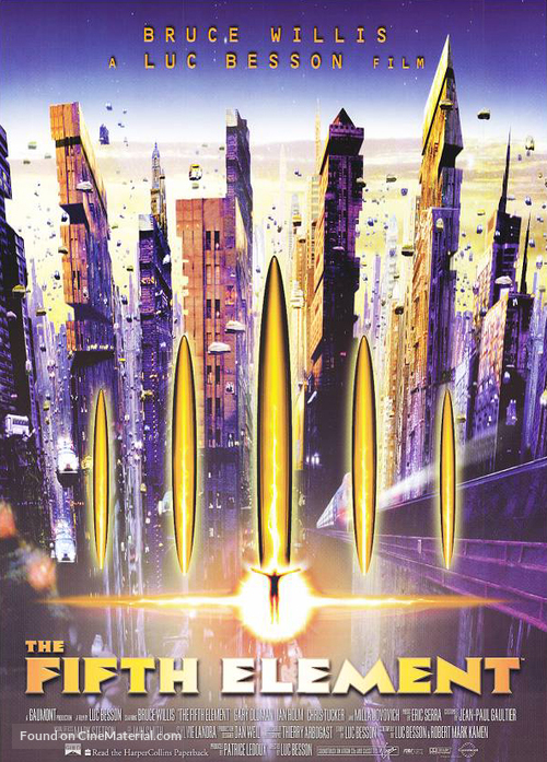 The Fifth Element - Movie Poster