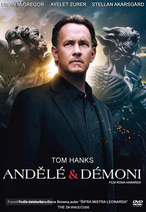 Angels & Demons - Czech DVD cover