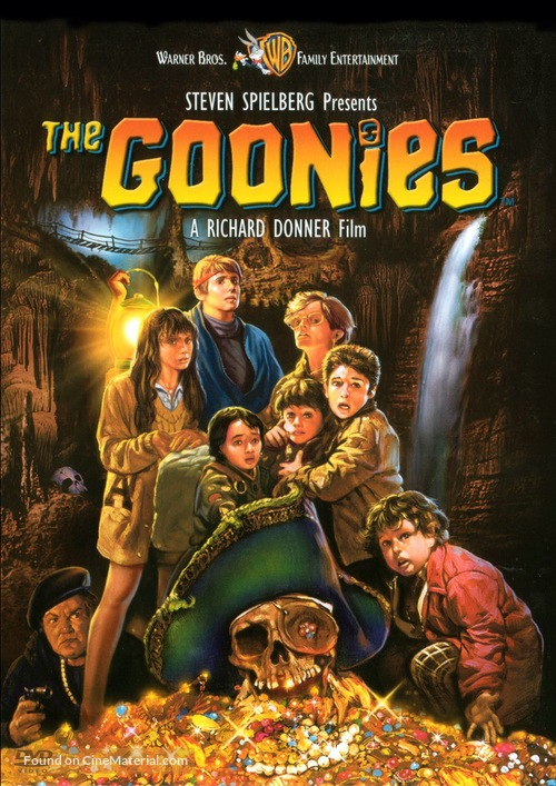 The Goonies - DVD movie cover