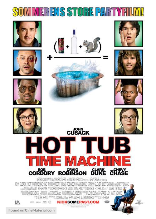 Hot Tub Time Machine - Swedish Movie Poster